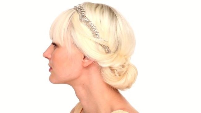 Comment Faire Un Chignon Sur Cheveux Courts Coiffure Facile Mais Belle